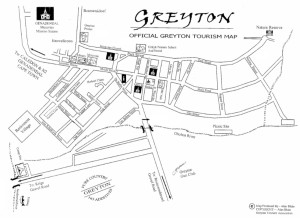 Greyton Village Walk Map