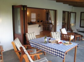68 on Vlei Greyton self catering self catering patio