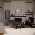 68 on Vlei Greyton fireplace