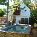 Naartjie Cottage Greyton swimming pool